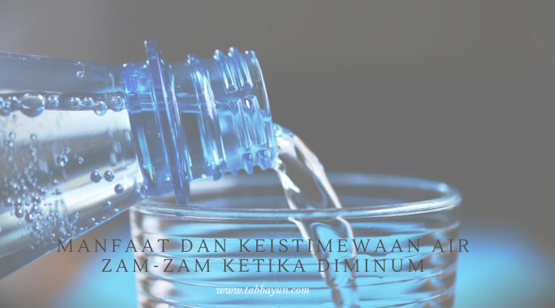 doa minum air zam zam agar cepat hamil
