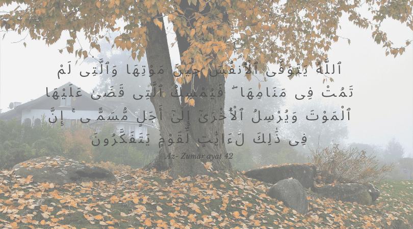 ayat alquran tentang musibah kematian