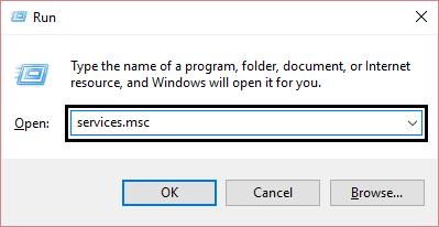services windows
