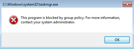 Mengatasi This Program Is Blocked by Group Policy Error