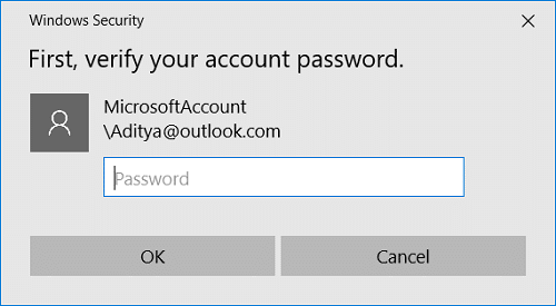 Windows will ask you to verify your identity | Fix Enter Network Credentials Error