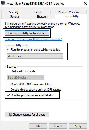 compatibility troubleshooting